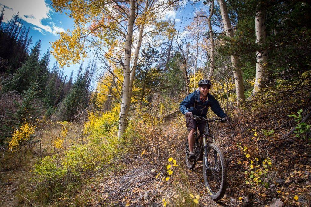 Fall Mountain Biking Salida, Colorado