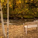 CreeksideChalets-fall-bench