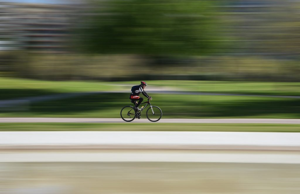 race, cyclist, speed